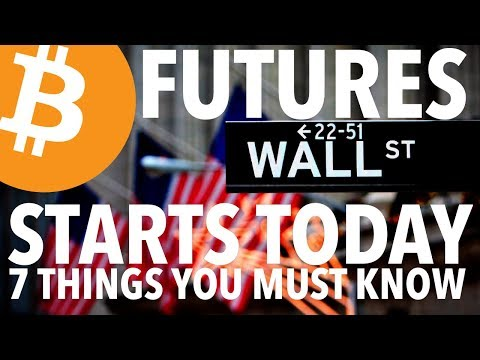 CBOE BITCOIN FUTURES LAUNCH TODAY | 7 THINGS YOU MUST KNOW / CME | BTC PRICE AFFECT