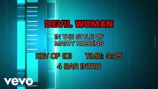 Marty Robbins - Devil Woman (Karaoke)