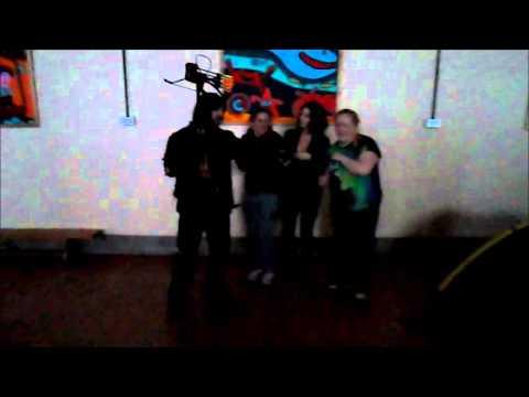 Leah Cairns Scare Video