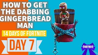 New 14 Days of 'Fortnite' How to Get The Dabbing Gingerbread Man