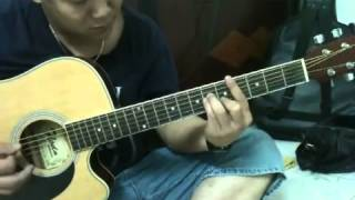 Rhythm of the rain - guitar