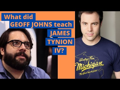 What did Geoff Johns teach James Tynion IV about writing comics?