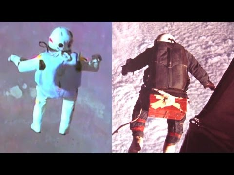 Joseph Kittinger & Felix Baumgartner High Altitude Free Fall