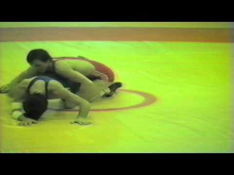 1988 Senior European Championships: 57 kg Sergei Beloglasov (USSR) vs. Jean Pierre Mercader (FRA)