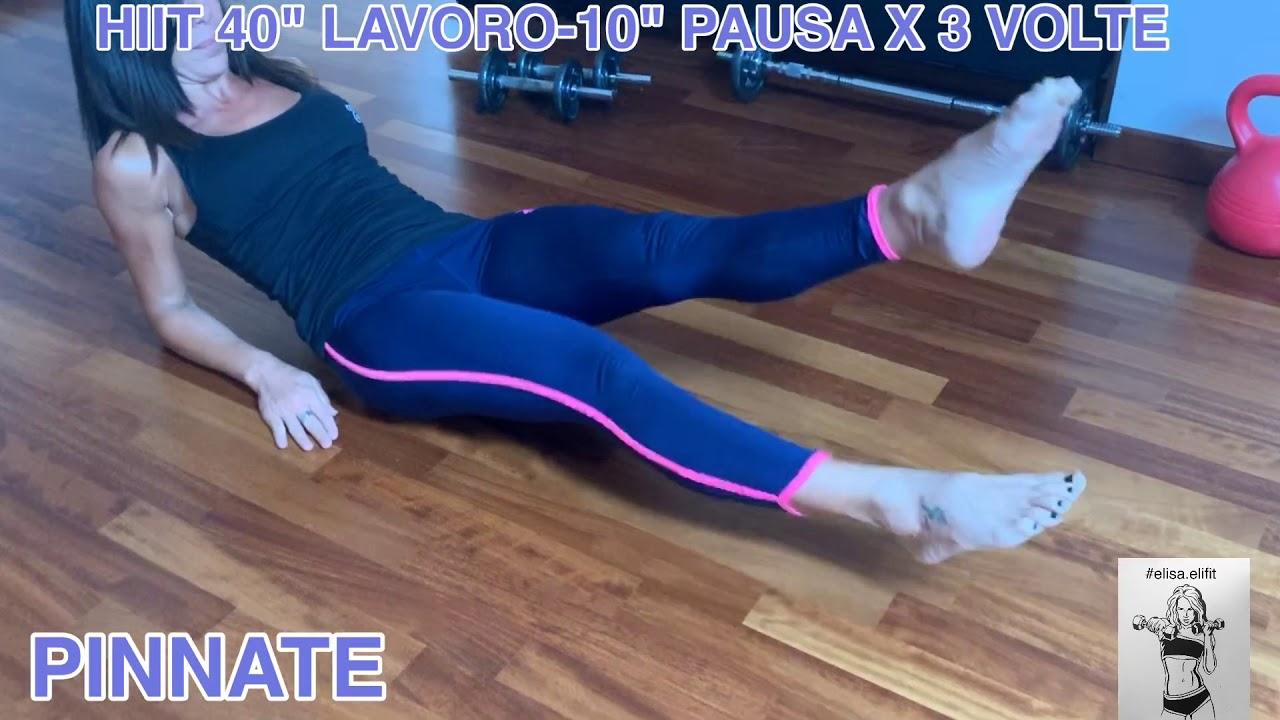 """CIRCUITO HIIT 40"""" LAVORO-10"""" PAUSA X 3 VOLTE #62"""