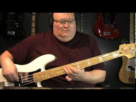Foo Fighters The Pretender Bass Cover with Notes & Tablature