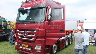 MERCEDES ACTROS MP3 LAUTER AUSPUFF VAN AALST TRANSPORT HOLLAND