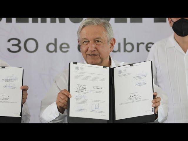 Transferencia del Centro Nacional de Arraigo al gobierno de Morelos