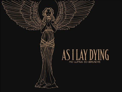 As I Lay Dying - No Lungs To Breathe (OFFICIAL LYRIC VIDEO)