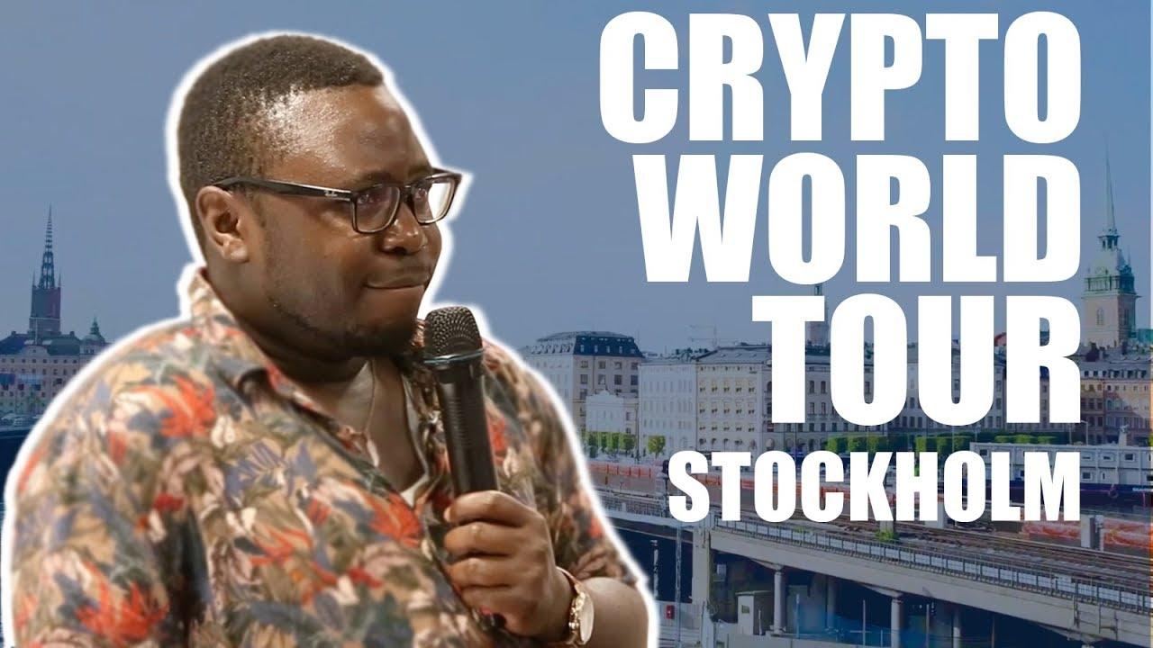 Ian Balina Crypto World Tour | Stockholm, Sweden