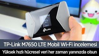 """TP-Link M7650 LTE Mobil Wi-Fi incelemesi """"Gittiğiniz her yere LTE götürün!"""""""