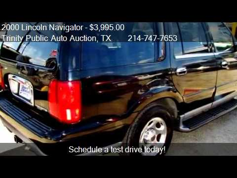 2000 lincoln navigator for sale in dallas tx 75208 youtube. Black Bedroom Furniture Sets. Home Design Ideas