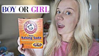 BAKING SODA GENDER TEST | BOY OR GIRL??