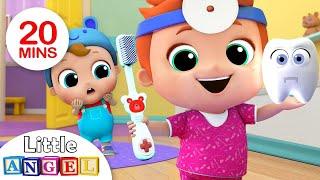 Baby Brush Your Teeth | Nursery Rhymes & Kids Songs - Little Angel