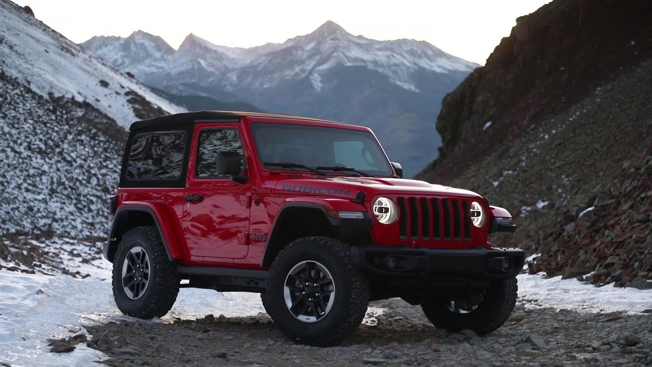 2018 Jeep® Wrangler Rubicon Running Footage