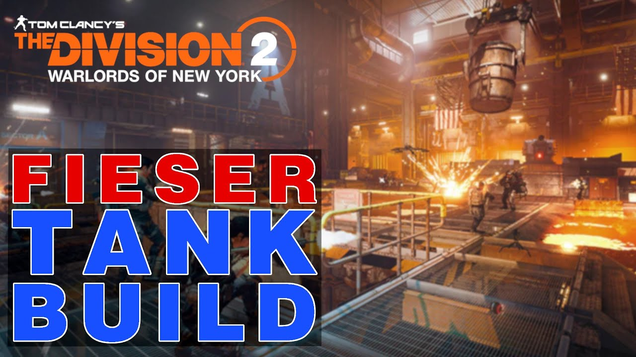 The Division 2 - FIESER BOSS TANK Build - RAID Stahlross Iron Horse Boss 2 Mein Tank Build