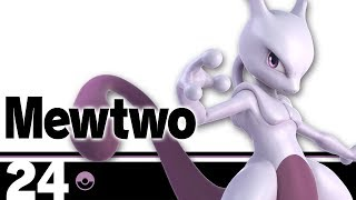 24: Mewtwo - Super Smash Bros. Ultimate