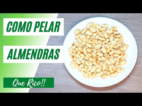 Como Pelar y Tostar Almendras #shorts | Que Rico!! #12