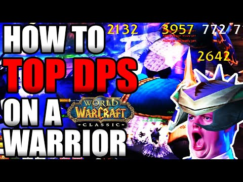 How To Top DPS As a Warrior In Classic WoW!!