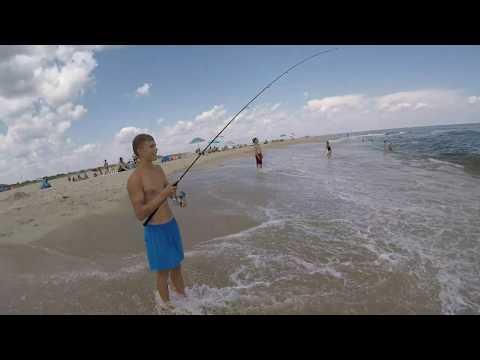 Surf Fishing Off Sandy Hook For Summer Flounder