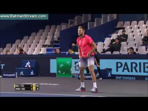 Doubles Atp Paris - Rojer/Tecau vs Monroe/Sock