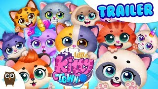Little Kitty Town - Collect Cats & Create Stories 😺 TutoTOONS Cartoons & Games for Kids