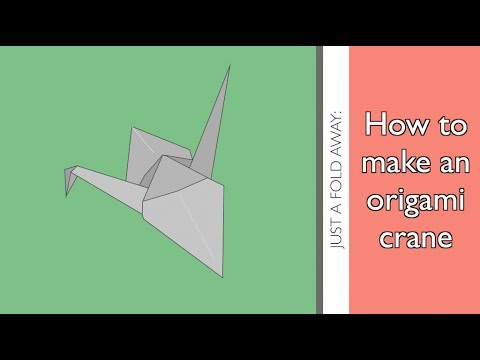 moving origami: how to make origami crane for kids | 360x480