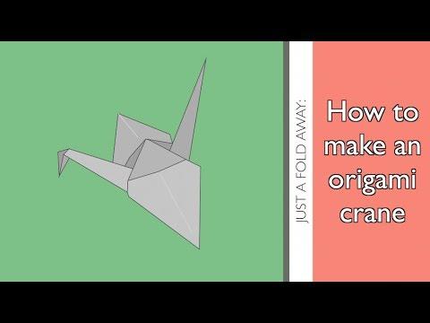 Origami Paper Crane | 360x480