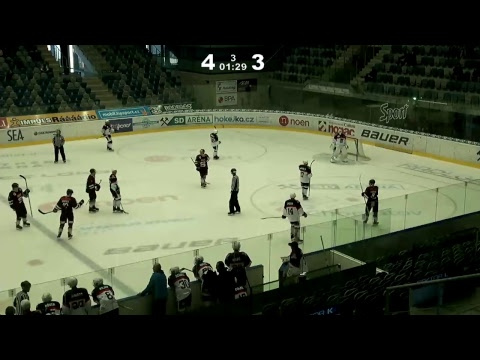 12. kolo DHL ELJ: Piráti Chomutov - HC Sparta Praha