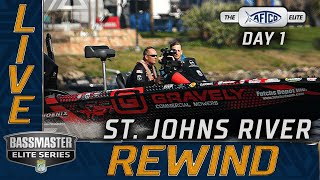2021 Bassmaster LIVE at St. Johns River - DAY 1 (THURSDAY)