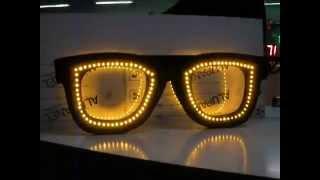 vente en ligne de lunette d'opticien led - fabrication française - enseigne opticien led