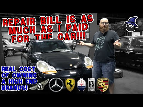Repair bills as much as I paid for the car! CAR WIZARD shares the real cost of owning high end cars