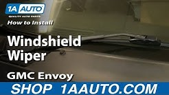 How To Replace Windshield Wiper Blade 02-09 GMC Envoy