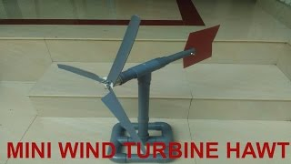 Small Wind Turbine Making Video