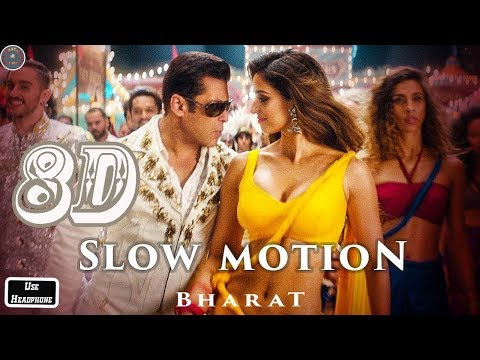 8D Audio - Bharat - Slow Motion - Salman Khan, Disha Patani- Vishal-Shekhar Feat. Nakash, Shreya