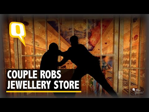 Jewellery Store Robbed by Couple Disguised as Customers