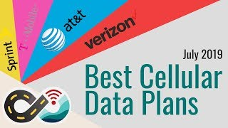 Best Cellular Data Plans for Mobile Internet for RVers & Cruisers - Verizon, AT&T, T-Mobile & Sprint