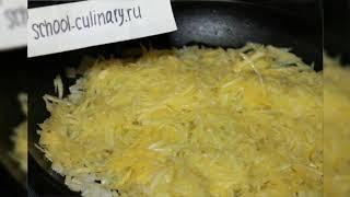 Салат с жареным кабачком и огурцом - school-culinary.ru