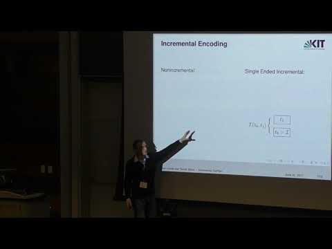 ICAPS 2017: Accelerating SAT Based Planning with Incremental SAT Solving
