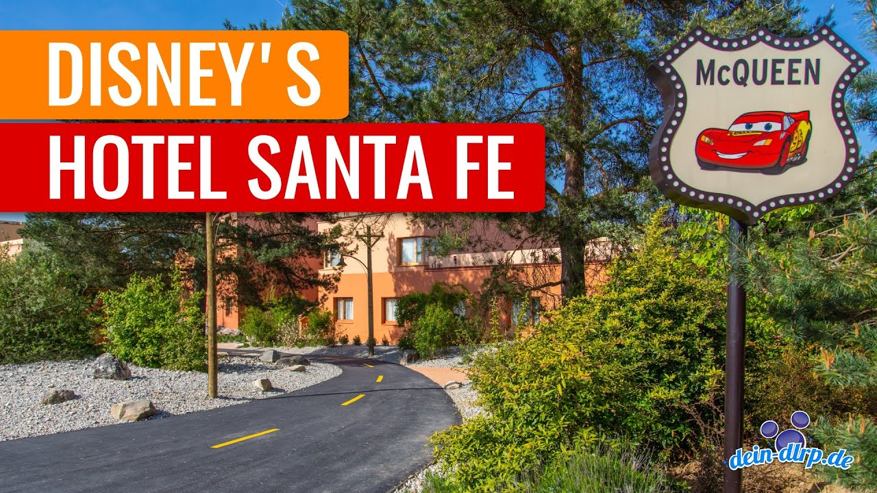 Disney S Hotel Santa Fe Disneyland Paris Hotel Tour Youtube