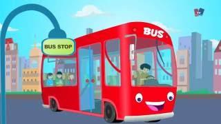 ล้อบนรถบัส | การ์ตูนสำหรับเด็ก | วิดีโอการศึกษา | เด็กสัมผัสที่เป็นที่นิยม | Wheels On The Bus