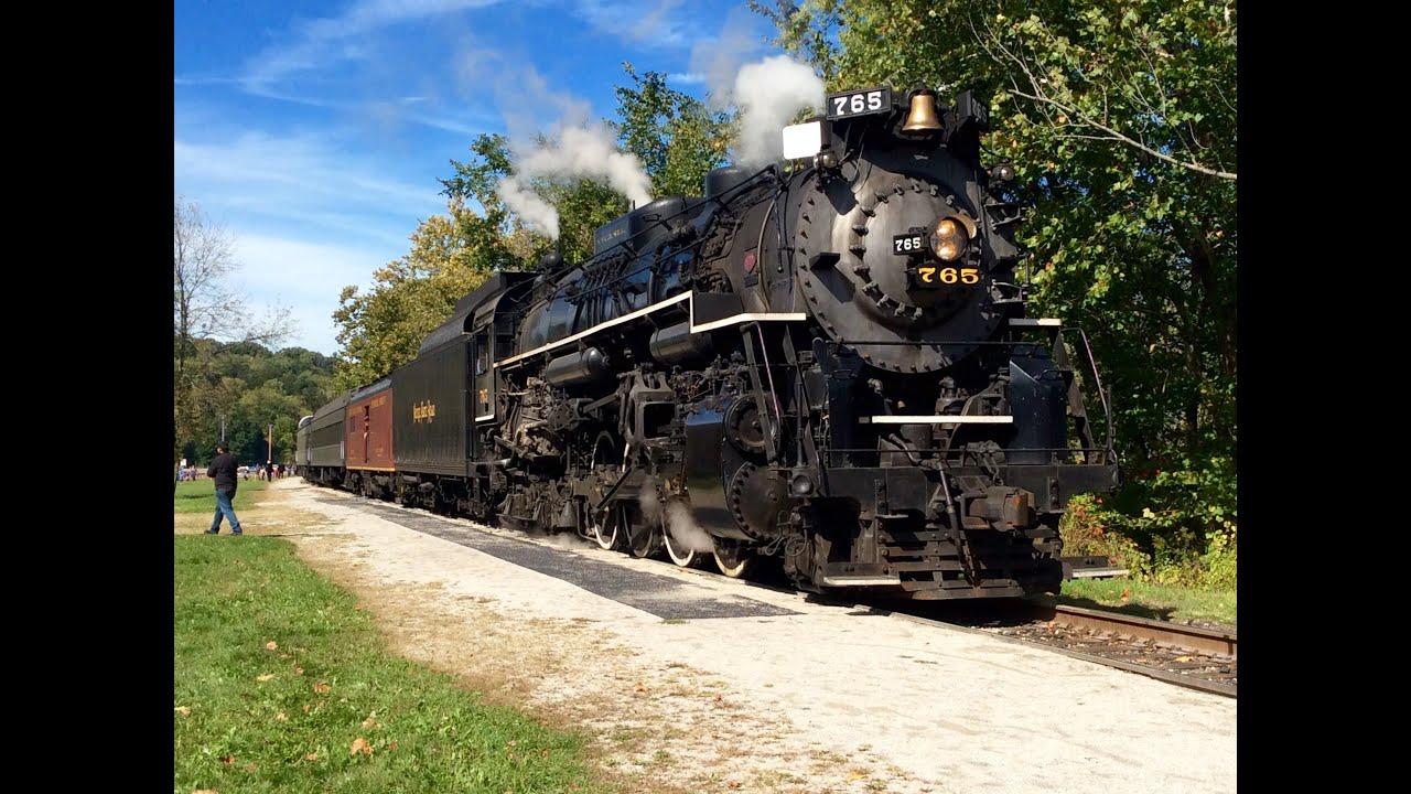 Cuyahoga valley steam train / Columbus in usa