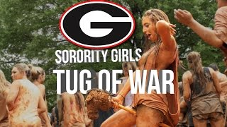 ATO Tug of War Party - University of Georgia 2015