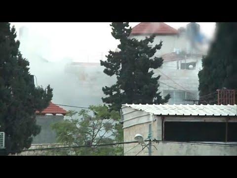 """כוחות צה""""ל הורסים את בית המחבל עמר אבו לילא"""