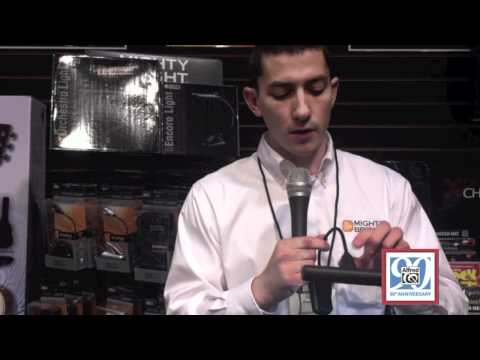 from NAMM 2012  Alfred Music Publishing & Mighty Bright Lights