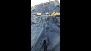 Men's Denim long pant spandex Brand: OVS (100% original)