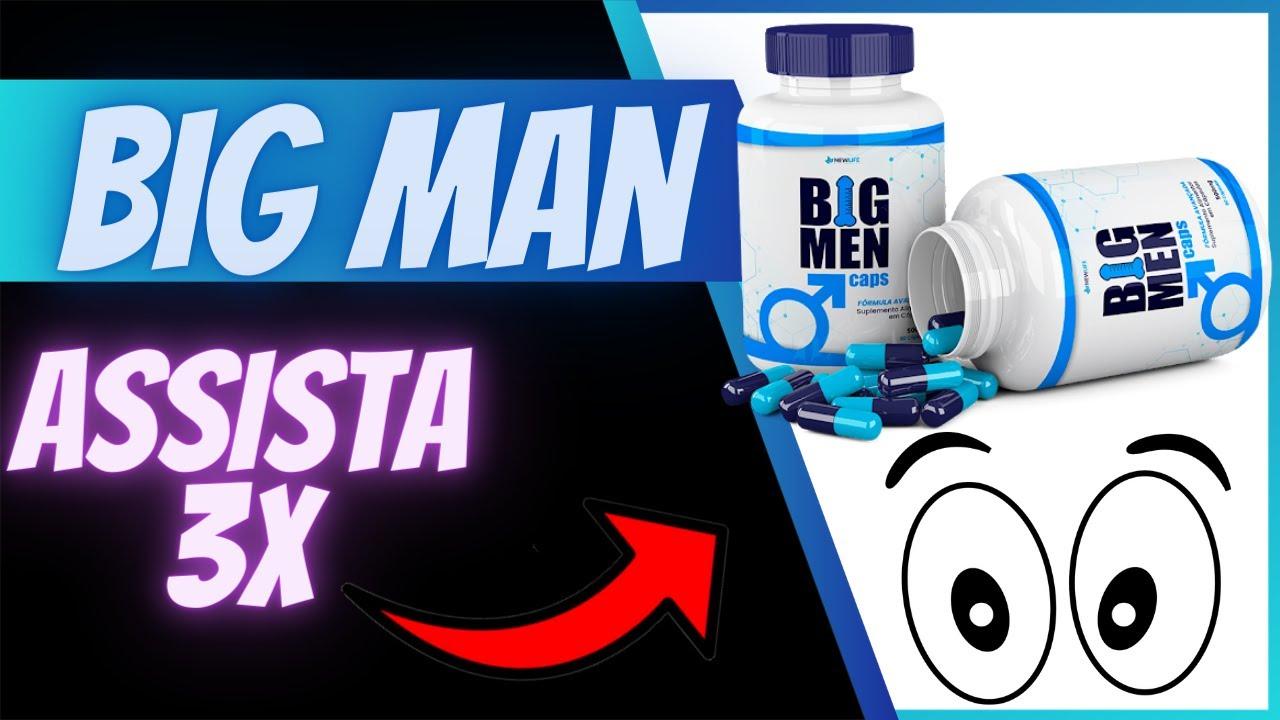 efeitos colaterais do big men caps