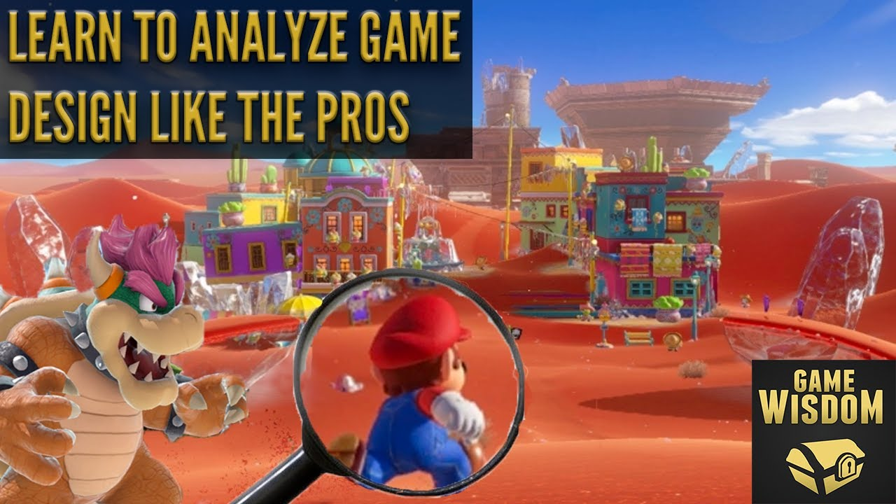 How To Analyze Game Design Like A Pro Perceptive Podcast Youtube