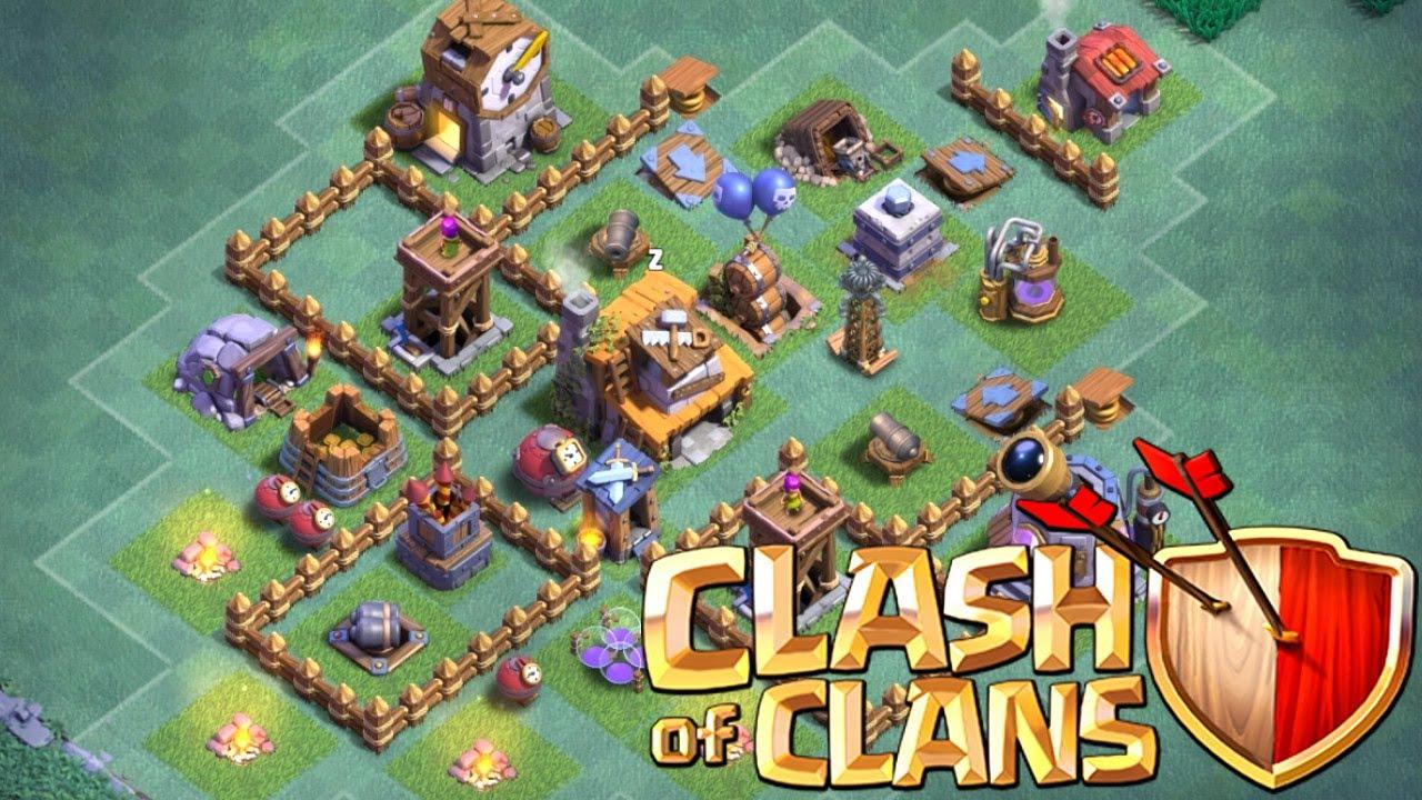 Beste Meisterhutte Level 4 Base 2017 Clash Of Clans Base Design Mh