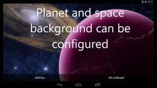Rotating Planet Android Live Wallpaper